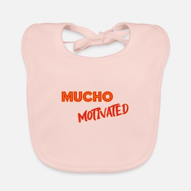 Motive motivation. motivated. motivated. - Baby Bib
