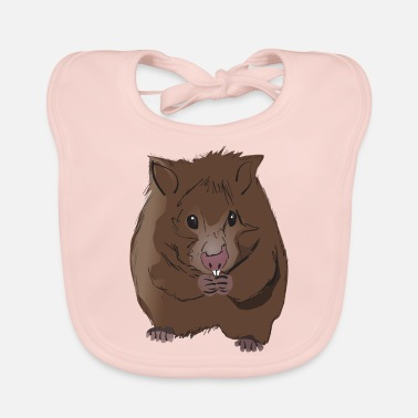 Rodent Hamster rodent rodent pet - Baby Bib