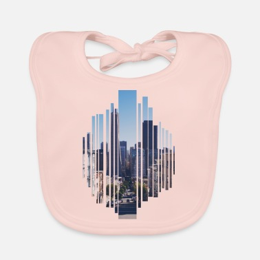 City City a big city - Baby Bib