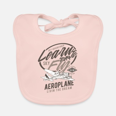 Learn To Fly Learn To Fly Learn to fly - Baby Bib