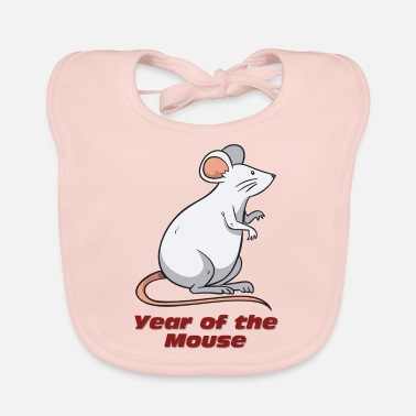Year Of The Year of the Mouse - Year of the rat - Lätzchen