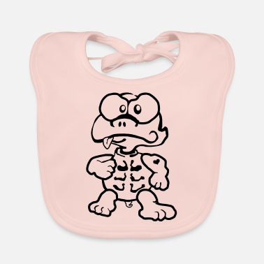 Ton Ton the Turlte - Baby Bib