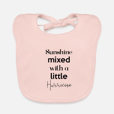 Sayings sunshine saying cute funny baby shirt - Baby Bib