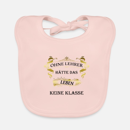 Birthday Baby Clothes - Teacher saying gift graduation class - Baby Bib rose