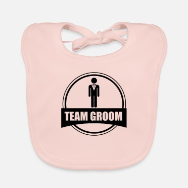 Stag Do TEAM GROOM - Stag do - Baby Bib