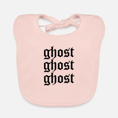 Ghost Ghost ghost ghost - Baby Bib