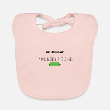 Perk Perks of being ugly - Baby Bib