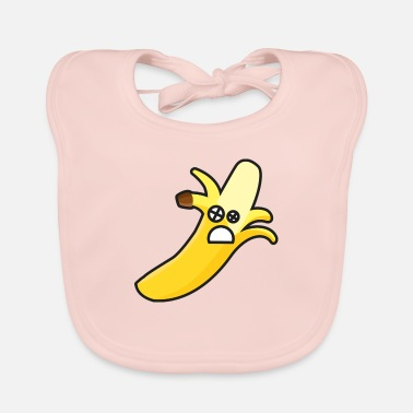 Knock Out Banana knock out - Baby Bib