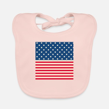 Stars And Stripes Stars and stripes - Baby Bib
