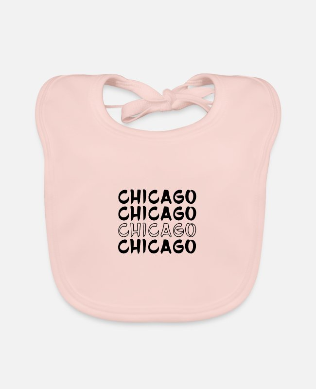 Chicago Baby Lätzchen - Chicago - Lätzchen Rose