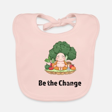 Be The Change Vegan - Baby Bib