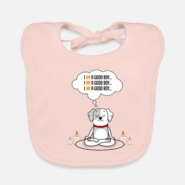 Ghost Dog good boy dog lover gift - Baby Bib