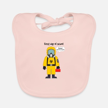 School First day of school - Baby Bib