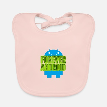 Android Forever Android - Baby Bib