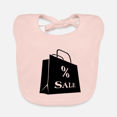 Discount Sign Sale sale discount bag - Baby Bib