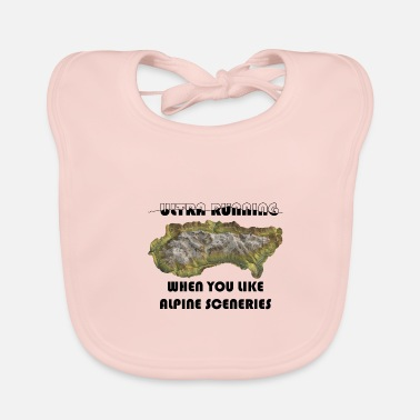 Ultra running trail - Baby Bib