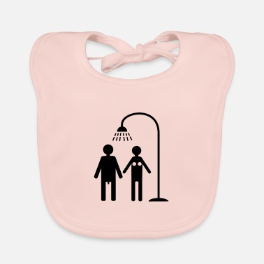Shower shower - Baby Bib