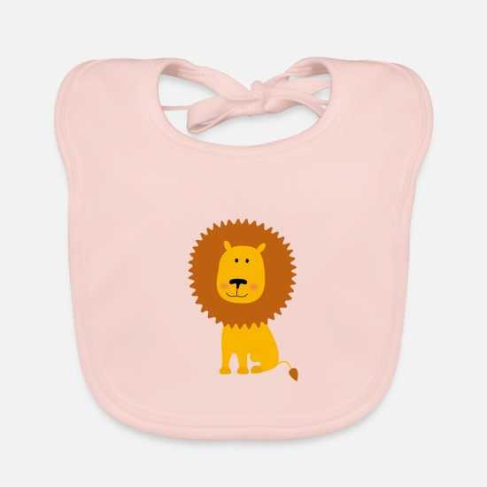 Gift Idea Baby Clothes - lion - Baby Bib rose