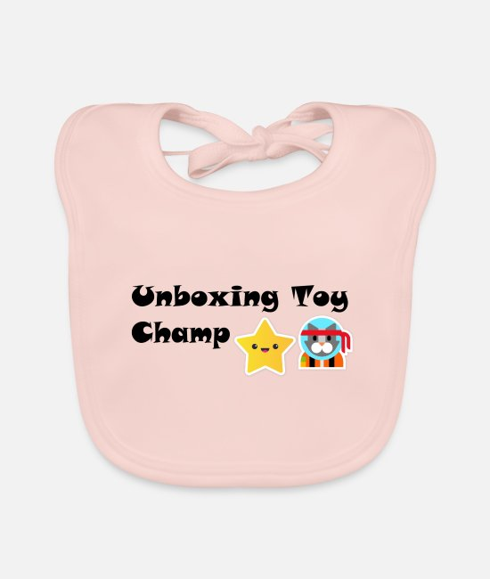 Toys Baby Bibs - Unboxing Toy Champ - Baby Bib rose
