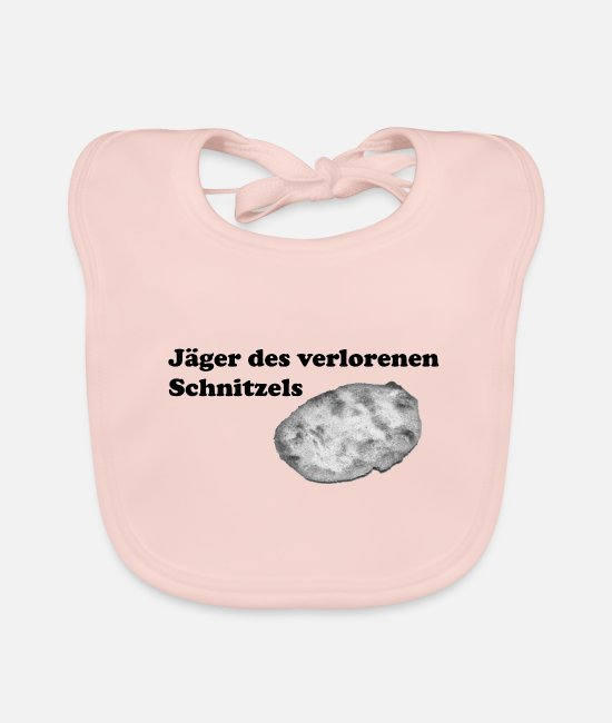 Wacky Baby Bibs - Huntsman of the lost schnitzel scavenger hunt - Baby Bib rose