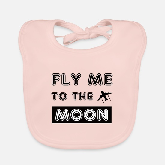 Travel Baby Clothes - pilot - Baby Bib rose