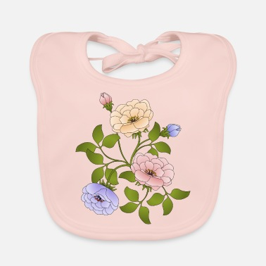 Flower Flowers - Baby Bib
