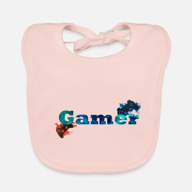 Console Consoles Gamer - Baby Bib