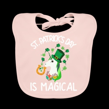 St. Patrick's Day is magical - Baby Organic Bib