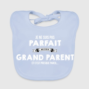 Grands-parents grand parent cadeau humour - Bavoir bio Bébé