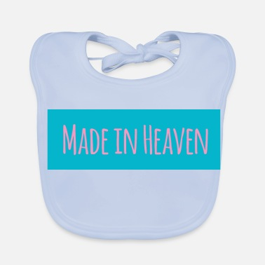 Heaven Made in Heaven - Bio-slabbetje voor baby's
