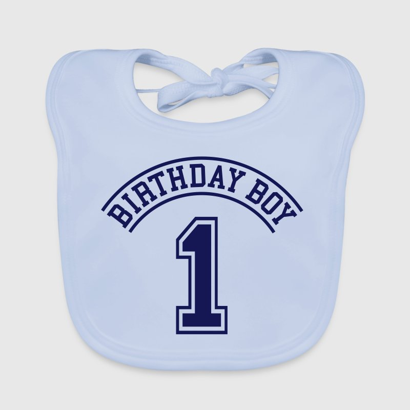 Birthday boy 1 year - Baby Organic Bib