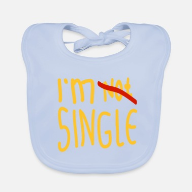 Single Non sono single, sono single - Bavaglino