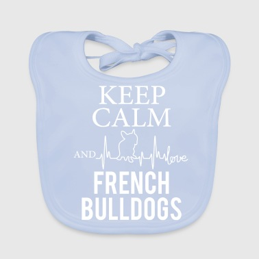 Bulldog French Bulldog French Bulldog - Baby Organic Bib