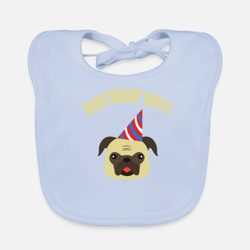Hund Mops Tiere Geburtstag Kinder Geschenk Jungs Latzchen Spreadshirt