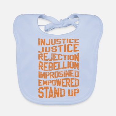 Injustice INJUSTICE REBELLION EMPOWERED - Baby Bib
