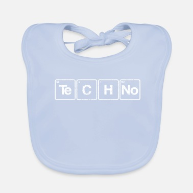 Periodic Table Techno periodic table elements - Baby Organic Bib