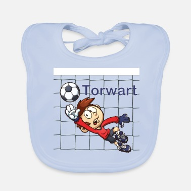 Net Goalkeeper with net - Baby Bib