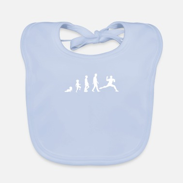 Handballer Handball Evolution - Baby Bib