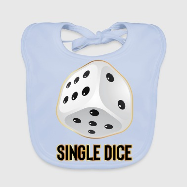 Single DICE - Bavoir bio Bébé