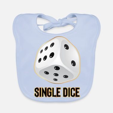 Single Single DICE - Bavoir bio Bébé