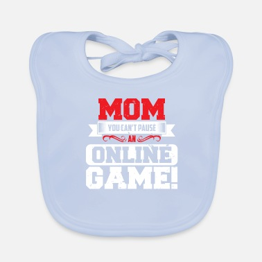 Teenager GAMER SHIRT VOOR SPELERS KIDS TEENAGER IDEA - Bio-slabbetje voor baby's