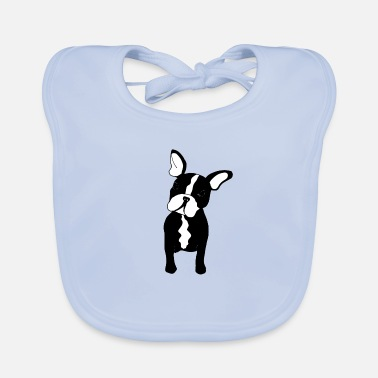 French Bulldog French Bulldog - Baby Organic Bib