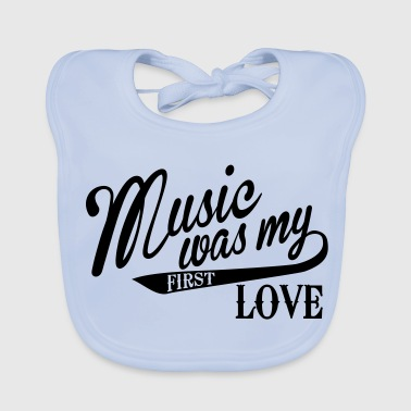 Music was my first Love - Bio-slabbetje voor baby's