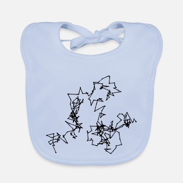 Motion Brownian Motion - Baby Bib