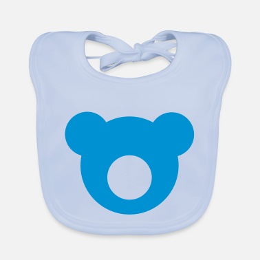 Changeable Bear +++ design colors changeable +++ - Baby Bib
