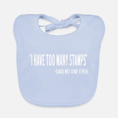 Stamp Collecting Collect stamps - Baby Bib