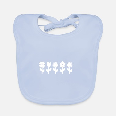Meadow flower meadow - Baby Bib