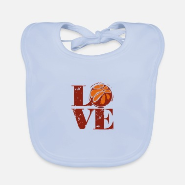 Basket Basketball Basketballer Basket Team Basket - Baby Bib