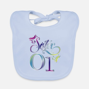 Siblings siblings - Baby Bib