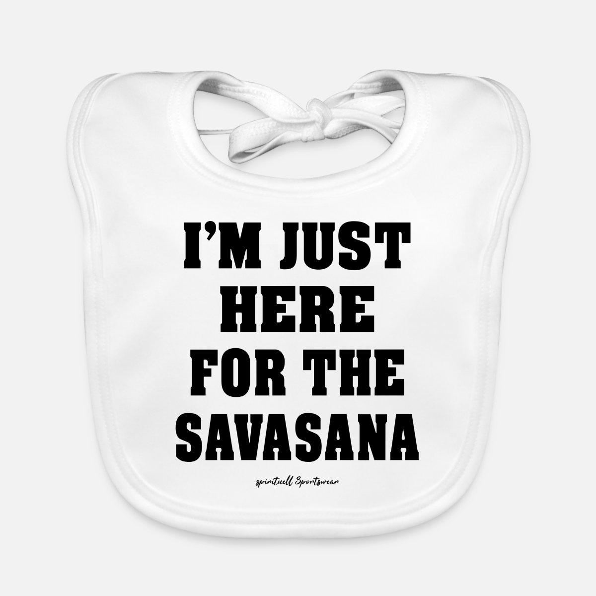 YOGA YOGI Namaste Savasana Geschenk' Lätzchen   Spreadshirt
